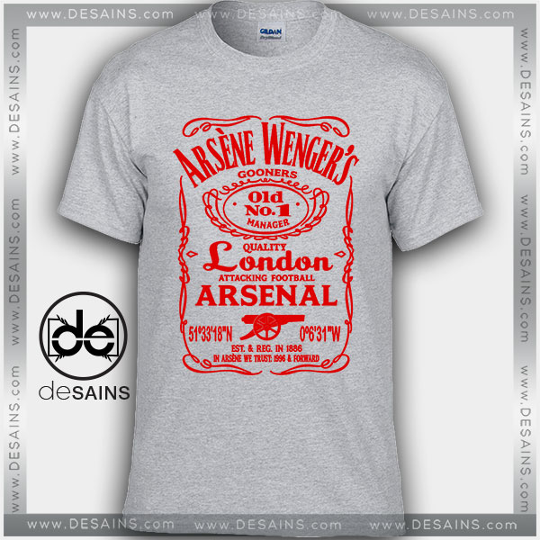 Cheap Graphic Tee Shirts Arsène Wenger Jack On Sale