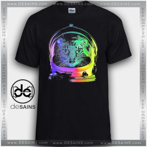 Cheap Graphic Tee Shirts Astronaut Cat NASA on Sale