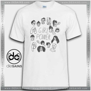Cheap Graphic Tee Shirts Best Girl Power Tshirt On Sale