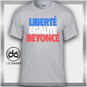 Cheap Graphic Tee Shirts Beyoncé Liberté Égalité On Sale