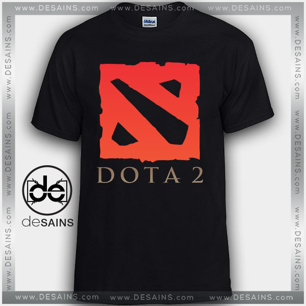 Cheap Graphic Tee Shirts Dota 2 Online game Logo On Sale
