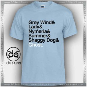 Cheap Graphic Tee Shirts Game of Thrones Direwolves