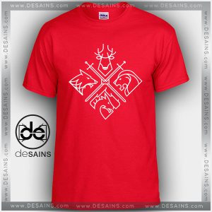 Cheap Graphic Tee Shirts Game of Thrones Minimal Thrones