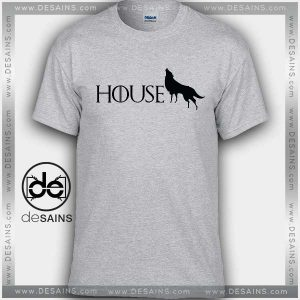Cheap Graphic Tee Shirts Game of Thrones Stark Tshirt on Sale