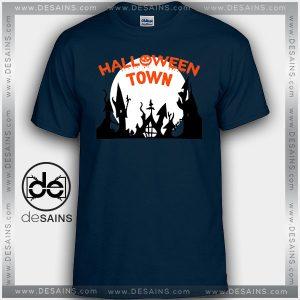 Cheap Graphic Tee Shirts Halloweentown Spooky Film Parody