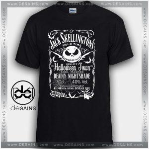 Cheap Graphic Tee Shirts Jack Skellington Halloweentown
