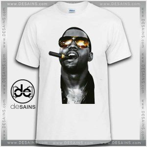 Cheap Graphic Tee Shirts Kanye West Smoking Tshirt on Sale