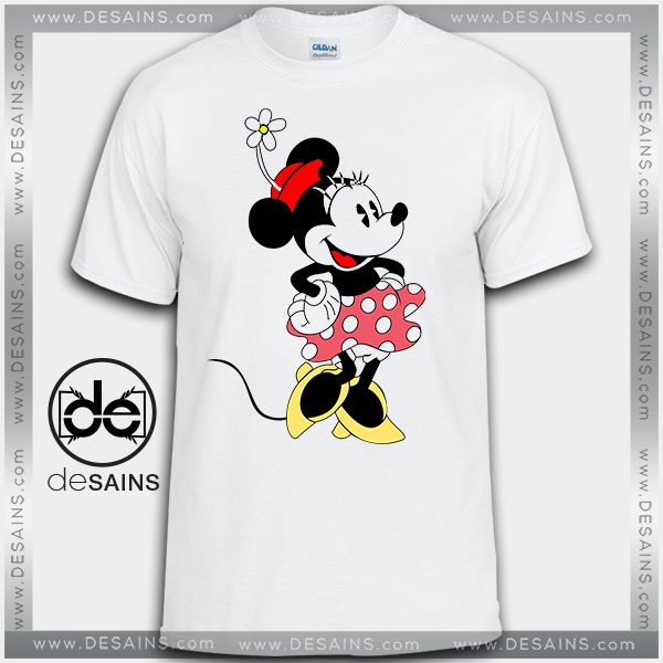 Cheap Graphic Tee Shirts Minnie Mouse Costume Tshirt on Sale
