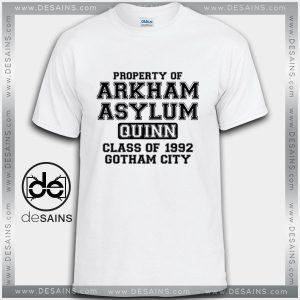 Cheap Graphic Tee Shirts Property of Arkham Asylum Quinn