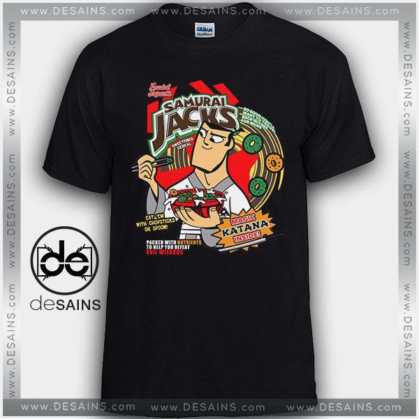 Cheap Graphic Tee Shirts Samurai Jack Magic Katana Tshirt On Sale