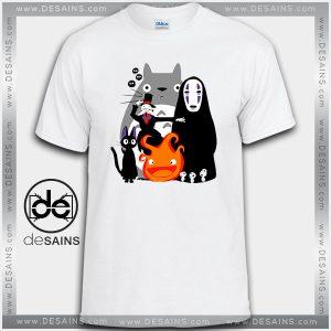 Cheap Graphic Tee Shirts Studio Ghibli Movies Tshirt on Sale