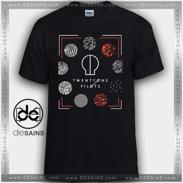 Cheap Graphic Tee Shirts Twenty one pilots blurryface Symbol