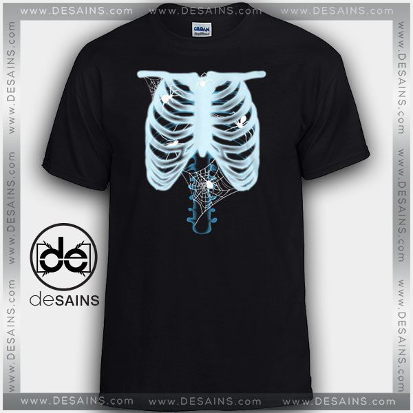 1c1ccb1d Cheap Graphic Tee Shirts X-Ray Skull Halloween Tshirt On Sale