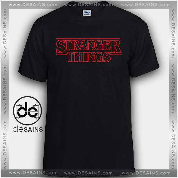 Best Tshirt Stranger Things Logo Graphic Tee Shirts