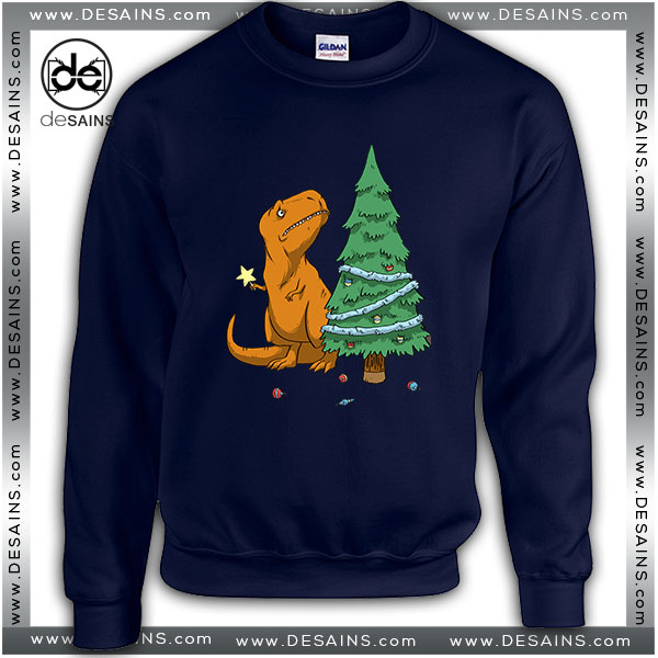 Best Ugly Sweatshirt The Struggle Trex Hates Christmas Review