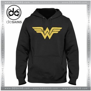 Cheap Graphic Hoodie Sweater Wonder Woman logo on Sale