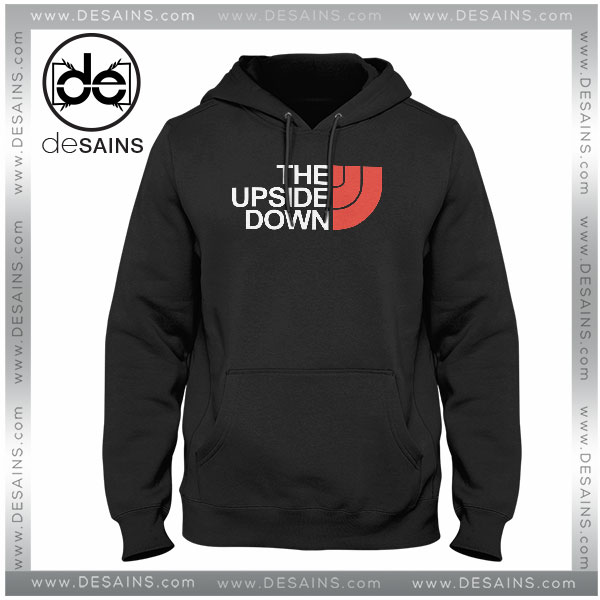 9a423d136 Cheap Graphic Hoodie The Upside Down Stranger Things North Face