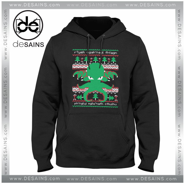 Cheap Graphic Hoodie Cthulhu Mythos Cults Christmas Sweater