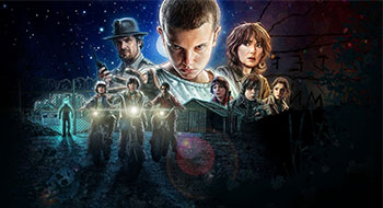 Cheap Graphic Shirts Stranger things Banner