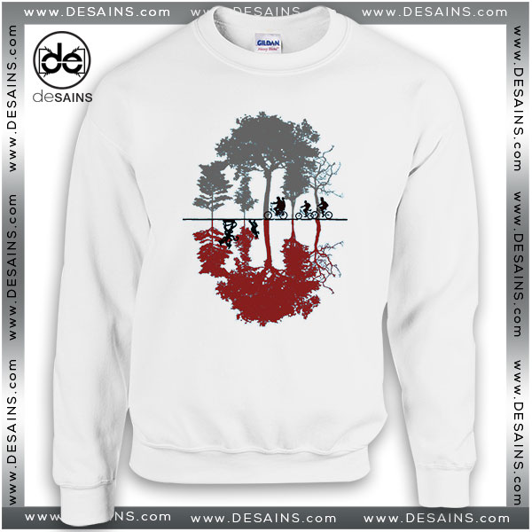 Cheap Graphic Sweatshirt Looking for the Upside Down Stranger Things