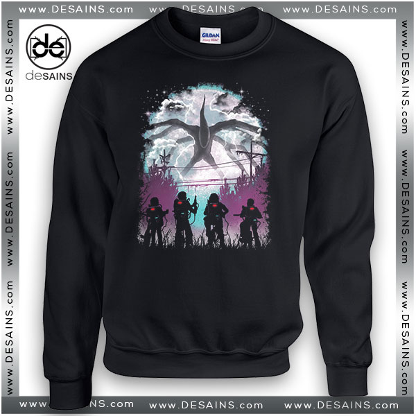 Cheap Graphic Sweatshirt Something Monster Stranger Things
