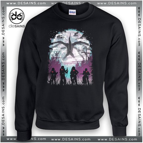 Cheap Graphic Sweatshirt Something Monster Stranger Things