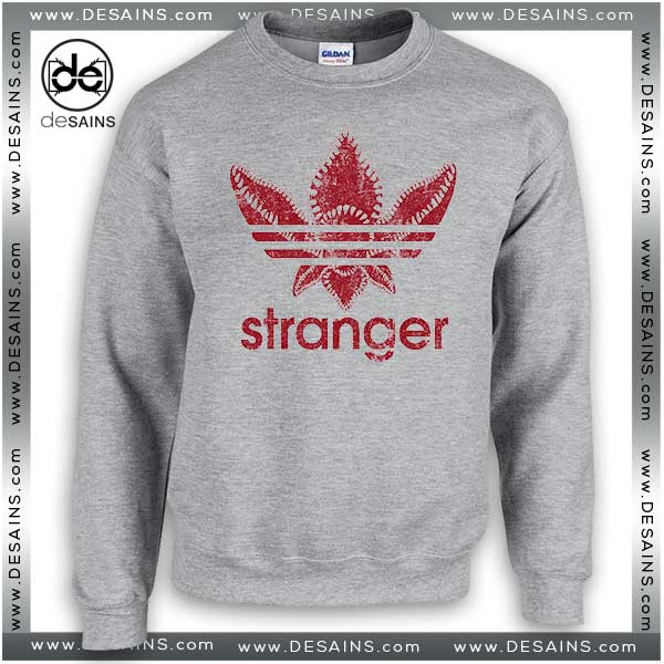Cheap Graphic Sweatshirt Stranger Things Monster Sweater Unisex