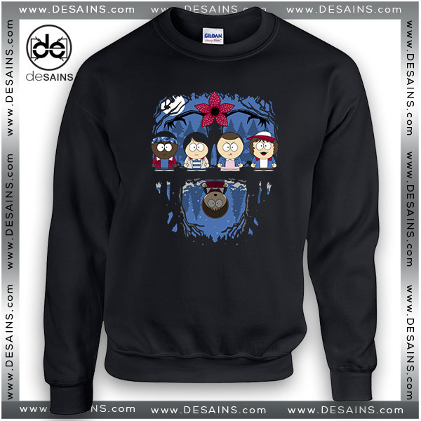 Cheap Graphic Sweatshirt Stranger Things South Park