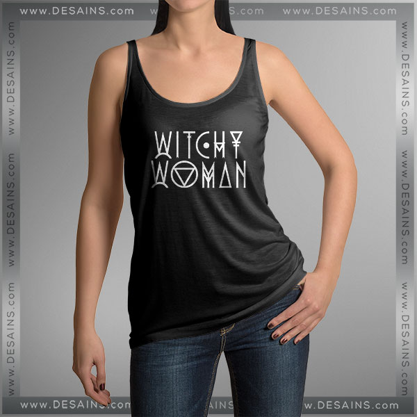 Cheap Graphic Tank Top Eagles Witchy Woman on Sale