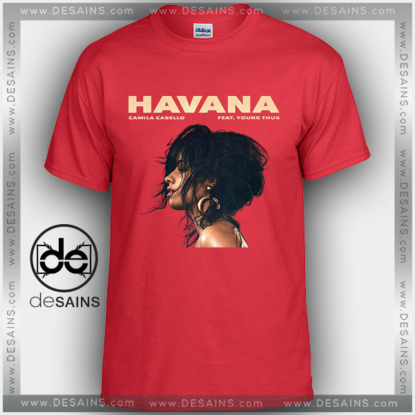 cheap graphic tee shirts camila cabello havana tshirt on sale