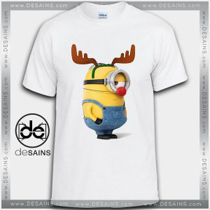 Cheap Graphic Tee Shirts Christmas Deer Stuart Minions Tshirt Size S-3XL