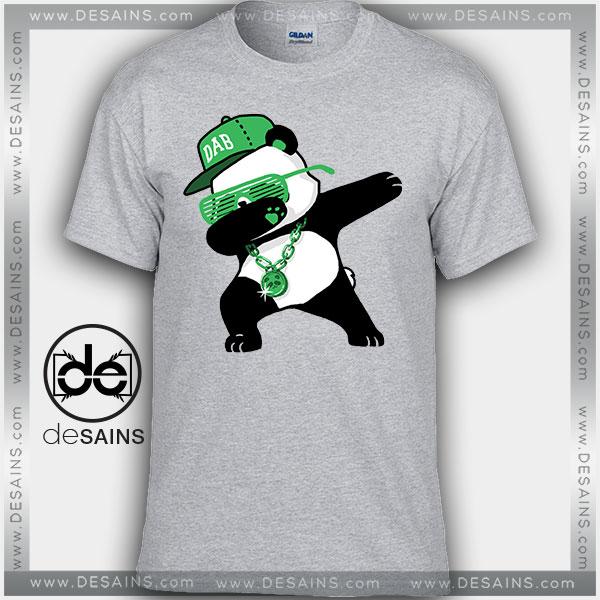 Cheap Graphic Tee Shirts Dabbing Rich Panda Tshirt Size S 3xl