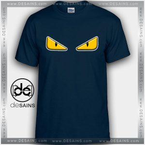 Cheap Graphic Tee Shirts Fendi Eyes Logo Tshirt On Sale