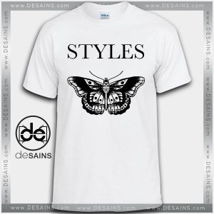 Cheap Graphic Tee Shirts Harry Styles Butterfly Tattoo Tshirt Size S-3XL