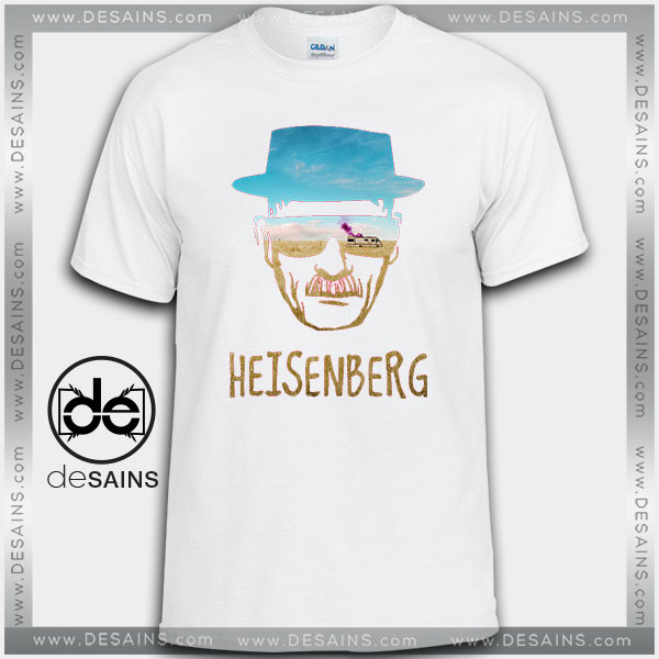 Cheap Graphic Tee Shirts Heisenberg Breaking Bad Tshirt on Sale