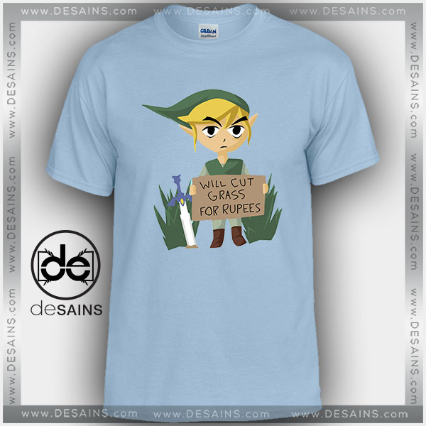 Cheap Graphic Tee Shirts Looking For Work Legend of Zelda