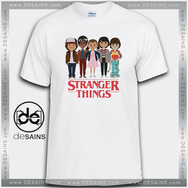 Cheap Graphic Tee Shirts Stranger Things Angry Face Tshirt On Sale
