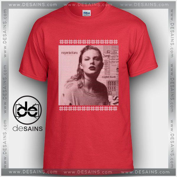 cheap graphic tee shirts taylor swift reputation christmas tshirt - Cheap Christmas Shirts