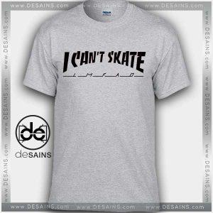 Cheap Graphic Tee Shirts Thrasher I Cant Skate Tshirt Size S-3XL
