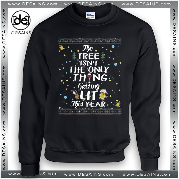 Cheap Graphic Ugly Sweatshirt Drinking Ugly Christmas Sweater Xmas