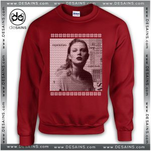 Cheap Ugly Sweatshirt Christmas Taylor Swift Reputation Album