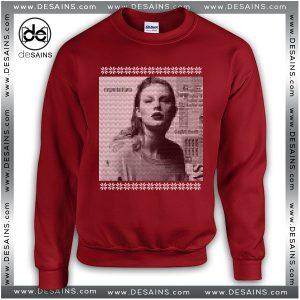 Cheap Ugly Sweatshirt Christmas Taylor Swift Reputation Album