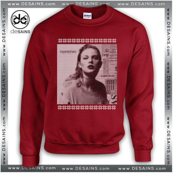 cheap ugly sweatshirt christmas taylor swift reputation album - Taylor Swift Christmas Album