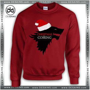 Cheap Ugly Sweatshirt Christmas is Coming Game of Thrones