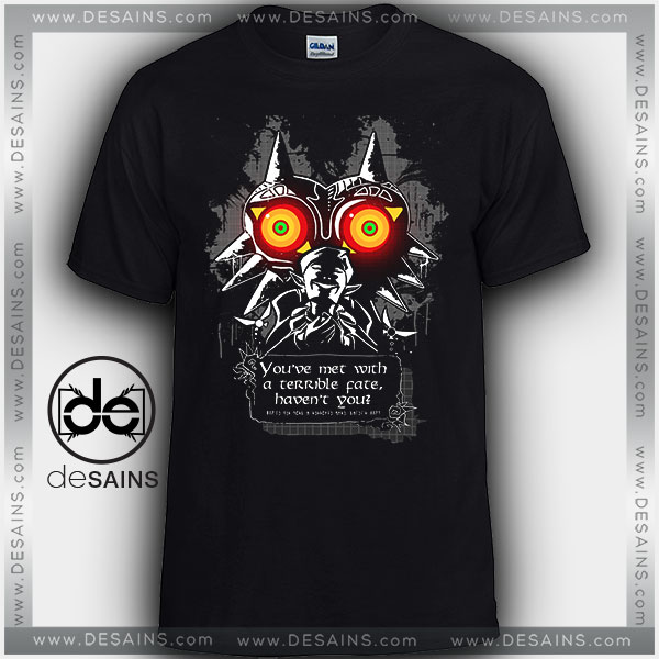Tee Shirts Majoras Mask Meeting With a Terrible Fate