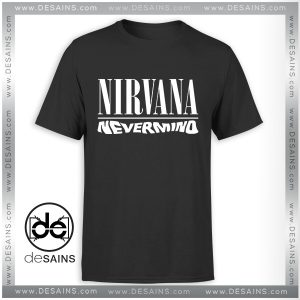 Best Graphic Tee Shirts Nevermind Nirvana Album Tshirt