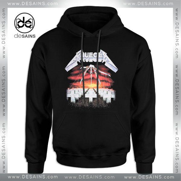 Cheap Graphic Hoodie Freddy Krueger Metallica Size S-3XL