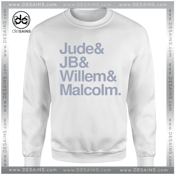 Cheap Graphic Sweatshirt A Little Life Book Jude, JB, Willem and Malcolm