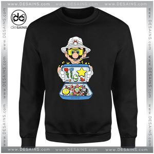 Cheap Graphic Sweatshirt Koopa Country Mario Bros on Sale