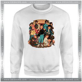 Cheap Graphic Sweatshirt Stranger Anime Stranger Things